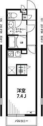 リブリ・浜竹[2階]の間取り
