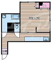 大阪府大阪市浪速区戎本町2丁目の賃貸マンションの間取り