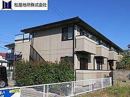 愛知県豊橋市小池町字西海戸の賃貸アパートの外観