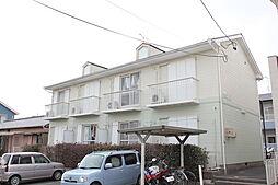 愛知県豊橋市西高師町字沢向の賃貸アパートの外観