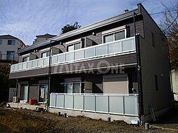 神奈川県川崎市麻生区黒川の賃貸アパートの外観