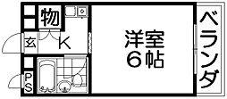 岡ビル[3階]の間取り