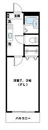 神奈川県川崎市高津区諏訪3丁目の賃貸マンションの間取り