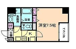 レジディア江戸堀[5階]の間取り