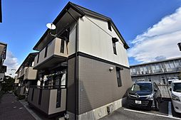 大阪府松原市高見の里4丁目の賃貸アパートの外観