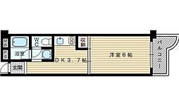 メゾン中井[2階]の間取り