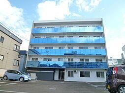 北海道札幌市中央区南十三条西13丁目の賃貸マンションの外観