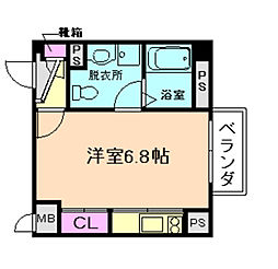 ウイステリア野田2番館[3階]の間取り