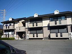 栃木県小山市城北6丁目の賃貸アパートの外観