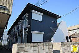 千葉県市川市宝2の賃貸アパートの外観