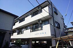 栃木県宇都宮市越戸町の賃貸マンションの外観