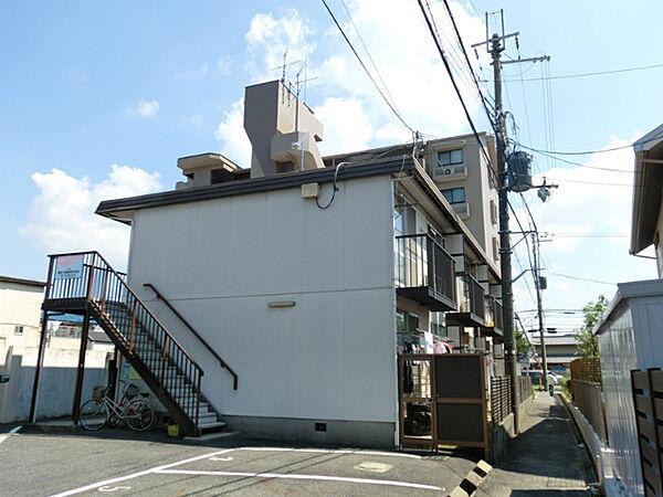 第2岡田ハイツ[2階]の外観