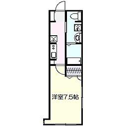 サクシード[2階]の間取り