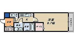 フジパレス堺香ヶ丘サウス[3階]の間取り