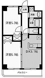 フルーレ向ヶ丘[1階]の間取り