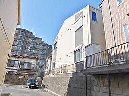 神奈川県大和市草柳1丁目の賃貸アパートの外観