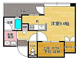 アクタス大手門II[9階]の間取り