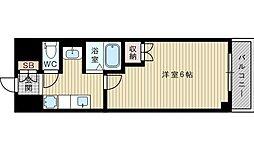 悠友館1番館[4階]の間取り