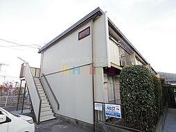 東京都昭島市武蔵野3の賃貸アパートの外観