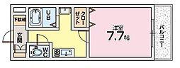 Mプラザ津田駅前十二番館[3階]の間取り