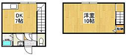 五十嵐アパート[101号室]の間取り