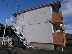 愛知県岡崎市若松東3丁目の賃貸アパートの外観