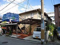 大阪府豊中市中桜塚5丁目の賃貸アパートの外観