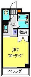 ツカヤマコートA[302号室]の間取り