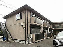 神奈川県横浜市都筑区茅ケ崎東5丁目の賃貸アパートの外観
