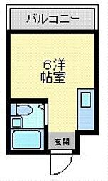 メルヘン新今里[2階]の間取り