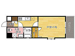 ピュアドームグランテージ博多[7階]の間取り