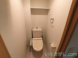レジディア三宮東のトイレ