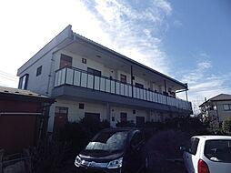 埼玉県狭山市広瀬東2丁目の賃貸アパートの外観