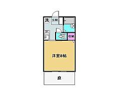 ティアラ原[1階]の間取り