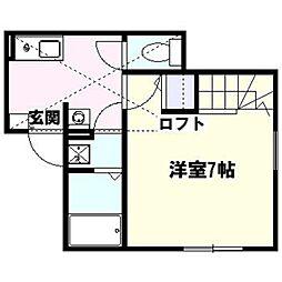 ハーミットクラブハウス鎌倉[103号室]の間取り