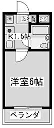 シャトーロマネ[3階]の間取り