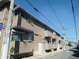 兵庫県神戸市灘区上野通7丁目の賃貸アパートの外観
