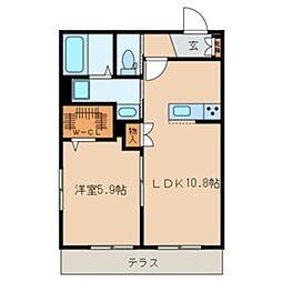 仮)鎌ケ谷メゾンEAST[2階]の間取り