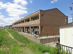 愛知県岡崎市大和町字家下の賃貸アパートの外観