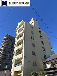 愛知県豊橋市新川町の賃貸マンションの外観