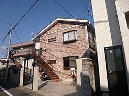 東京都江戸川区東小岩2丁目の賃貸アパートの外観