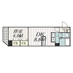 Arcenciel稲毛(アルカンシエル稲毛)[3階]の間取り