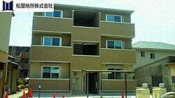 愛知県豊橋市上野町字上野の賃貸アパートの外観