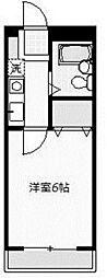 フレグラント2[2階]の間取り