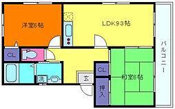 れいたくマンション[2階]の間取り