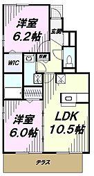 JR中央線 立川駅 バス10分 旭会下車 徒歩1分の賃貸アパート