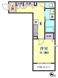 仮)下丸子3丁目シャーメゾン[201号室]の間取り