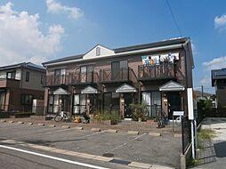 愛知県みよし市三好丘緑3丁目の賃貸アパートの外観