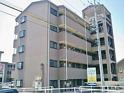長野県松本市井川城2丁目の賃貸マンションの外観