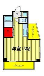 オッフェルタ石井[1階]の間取り